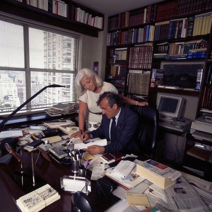 Elie et Marion Wiesel - New York - 1994