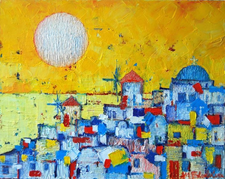 Ana-Maria Edulescu's Amazingly Vibrant Paintings of European Cities