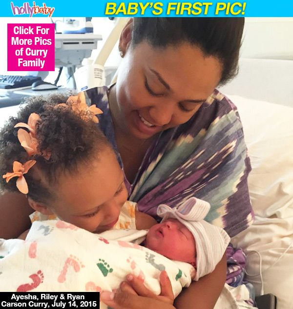 Stephen Curry and his wife welcome a new baby girl. Little Ryan Curry joins big sister Riley. Many blessings to the Curry family