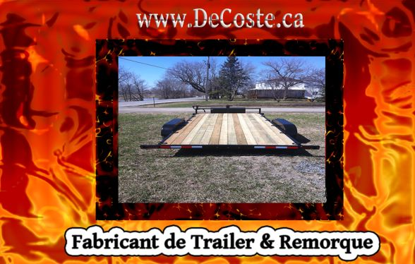 Site Trailer Dealers for VTT Laval Montreal West-Island Monteregie Laurentides Custom Fabricant Remorque
