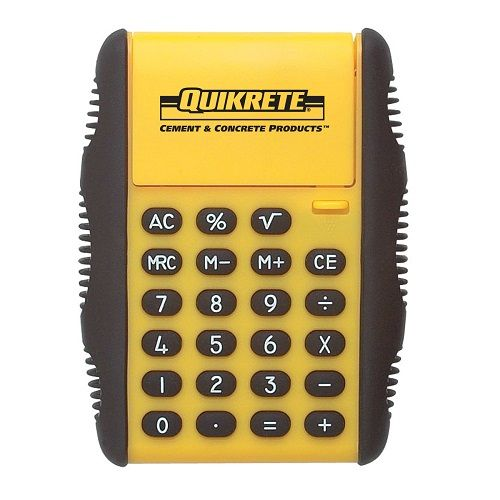 QUIKRETE® Flip Calculator. #Tools #ShopQUIKRETE #WhatAmericaIsMadeOf