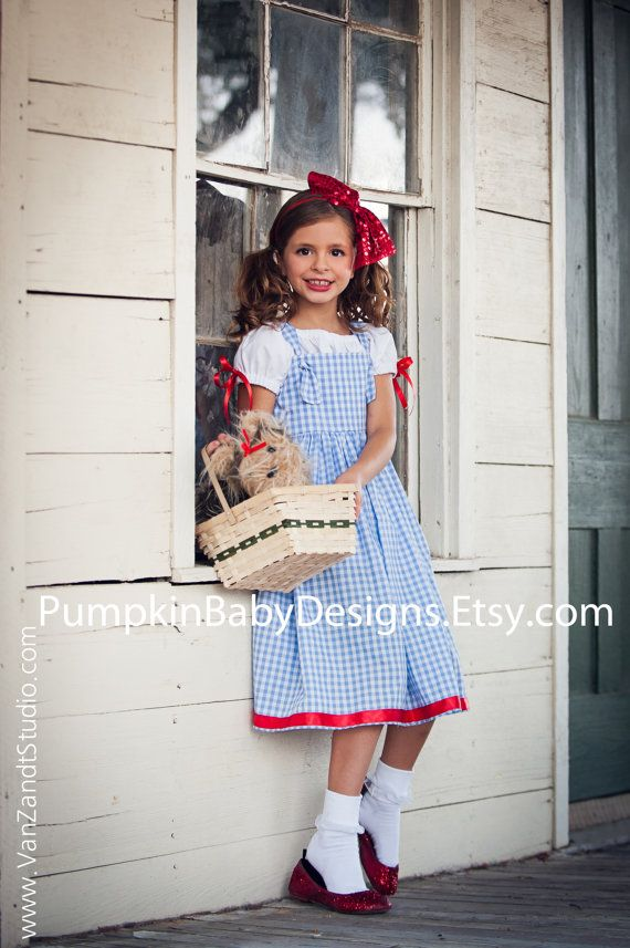 Dorothy Costume - Dorothy Dress - Wizard of Oz Costume - Dorothy ...