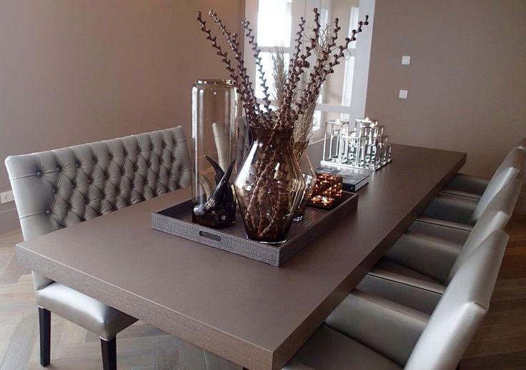 The Netherlands / Rotterdam / Private Residence / Dining Room / Status Living / Eric Kuster / Metropolitan Luxury