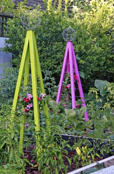 colorful trellis