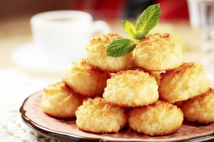 Biscotti al cocco con 3 ingredienti | Pronti in soli 8 minuti