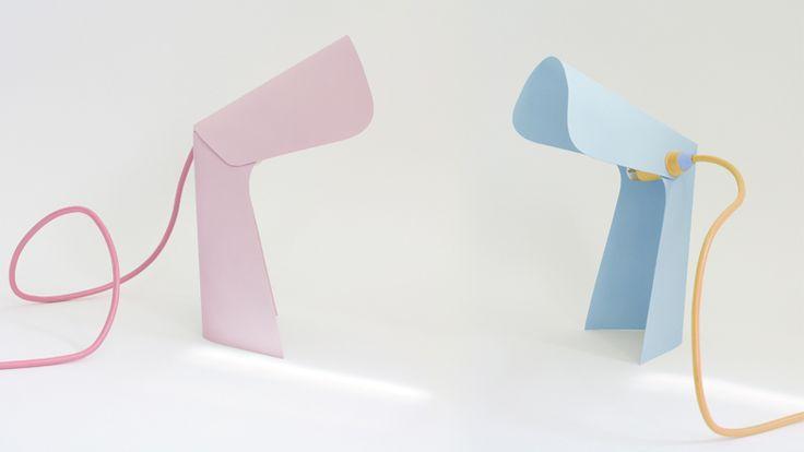 Pli & Co Lamp by Tim Defleur