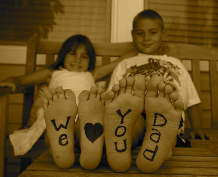 Fathers Day Photo Idea!