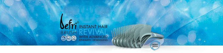 142 FlexiBristles – Super-flexible anti-static bristles with a unique conditioning effect.  8 Kinematic free-moving arms that glide through your hair, easily smoothing it out.  Vented structure facilitates blow-drying process by enabling warm air to circulate around roots.  Ergonomic handle – sturdy, light and durable.