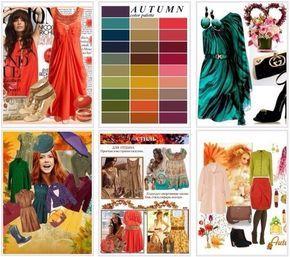 ОСЕННИЙ цветотип встречается редко, но распознать его очень легко. Таким женщинам присуща яркость и уверенность. Рыжие, каштановые или медные волосы, зеленые или ярко-карие глаза, и все это на фоне бледной кожи. Теплые, комфортные и натуральные краски – это главное правило по подбору цвета одежды для цветотипа осень. Выигрышно смотрится одежда в золотых тонах. Растительно-зеленый и небесно-синий цвет подчеркнет природную красоту.