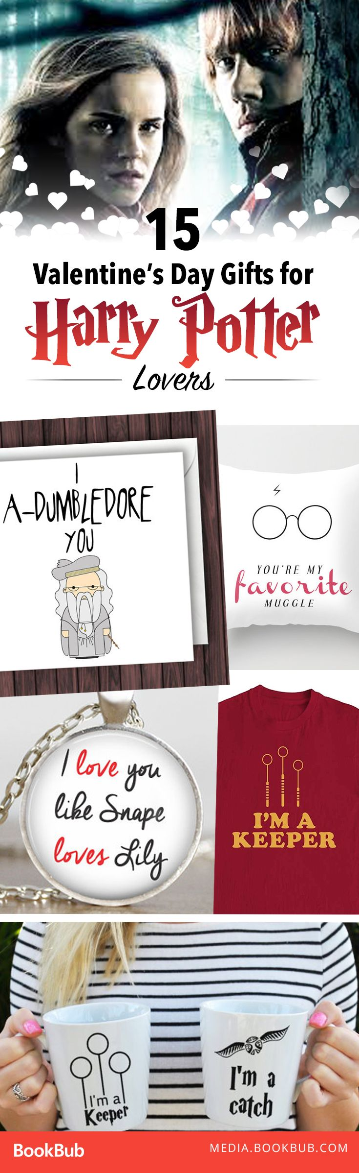 great valentines day gifts for him or her harry potter fans will go crazy over