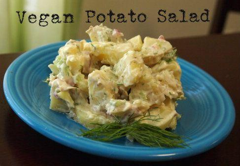 Vegan Potato Salad #vegan #recipe #yum
