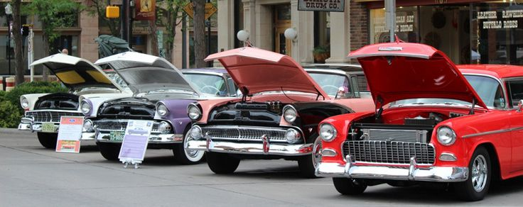 Roll with the classics at the Cruiser Car Show! Head to Downtown Rapid City and check out classic cars during an afternoon concert. Don't miss the excitement July 9!   #VisitRapidCity