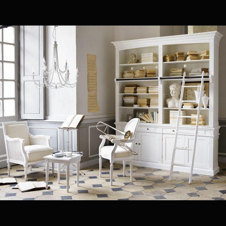 M s de 25 ideas incre bles sobre libreria blanca en - Biblioteca madera blanca ...