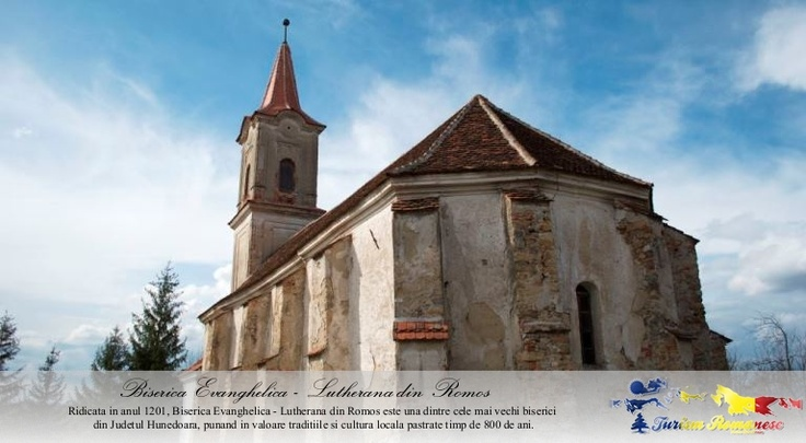 Biserica Evanghelica - Lutherana din Comuna Romos, Judet Hunedoara