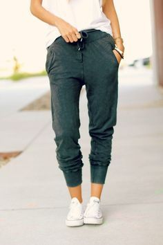 Love the pants ! FADED VELOUR TROUSERS from Kara