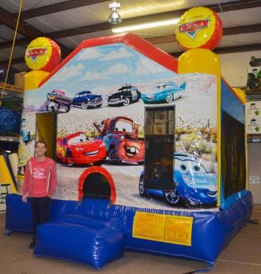 Disney Pixar Cars Jumper - Affordable Moonwalk Rentals - Covington Georgia