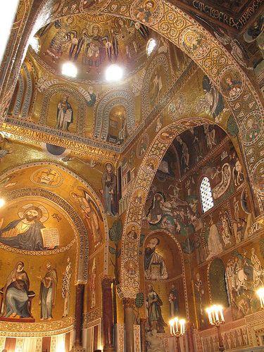 Palatine Chapel, Norman Palace, Palermo - Cappella Palatina, Palazzo dei Normanni, Palermo