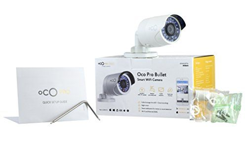 cool Oco Pro HD Outdoor Bullet Video Monitoring Camera 1080p Security Camera with SD Card & Cloud Storage