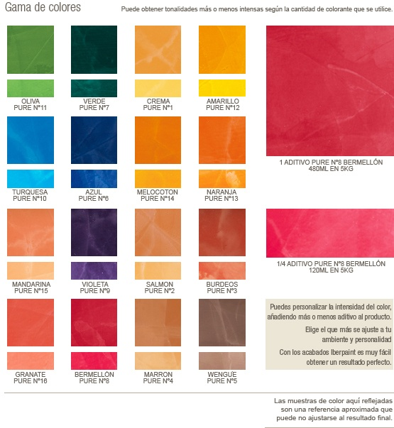 Gama de colores pinturas pinterest gamas de colores for Gama colores pintura pared