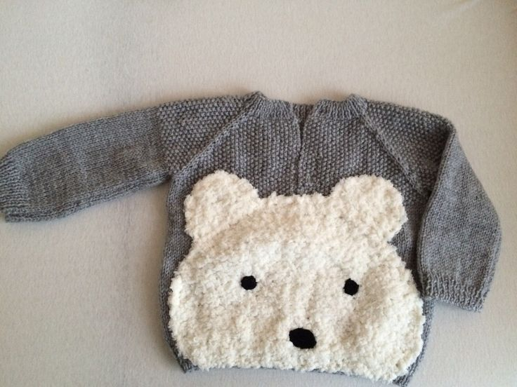 A personal favourite from my Etsy shop https://www.etsy.com/listing/259260718/polar-bear-sweater