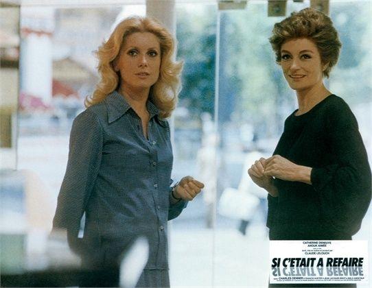 Chissà se lo farei ancora 1976  Catherine Deneuve, Anouk Aimee  ©Everett Collection