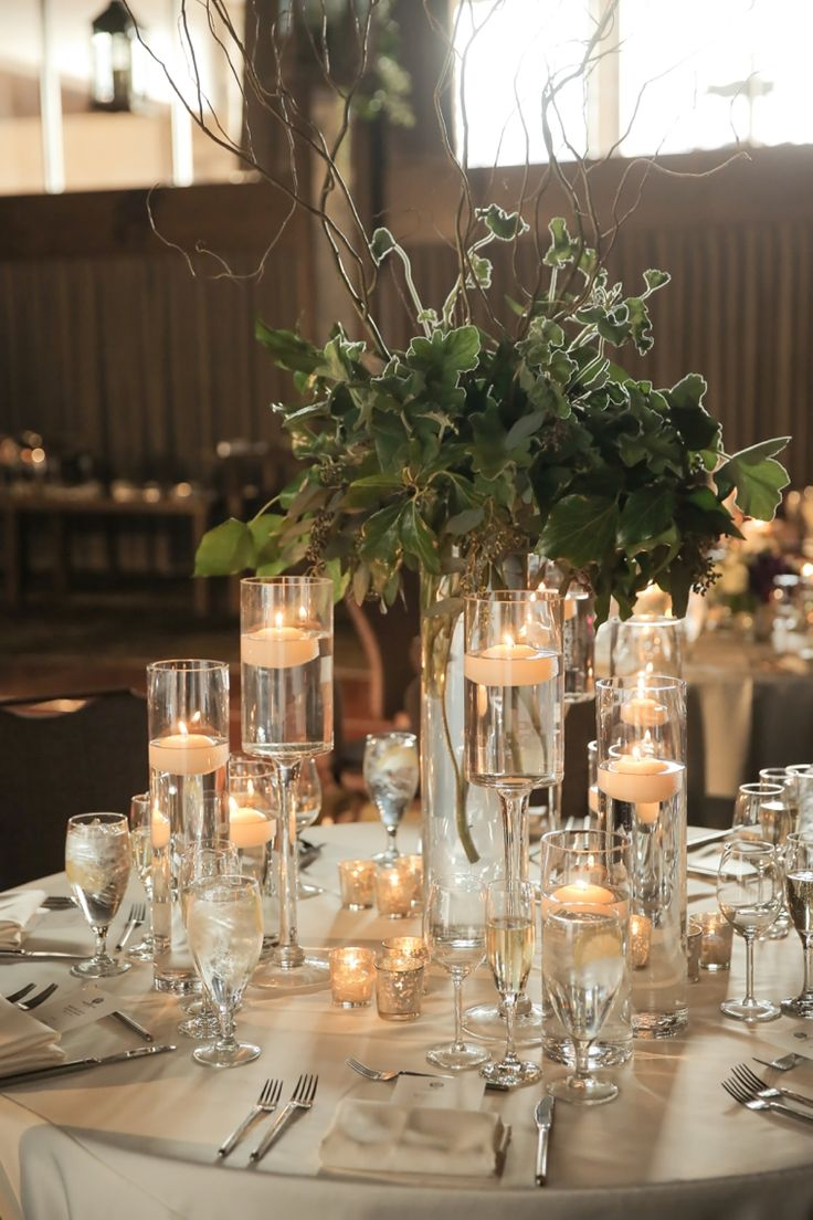 Lavender & #Green Nature Inspired Glam Utah Wedding #Candles