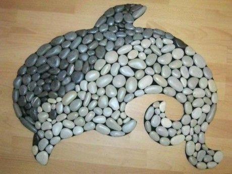 Оригинальное украшения для ванной в морском стиле