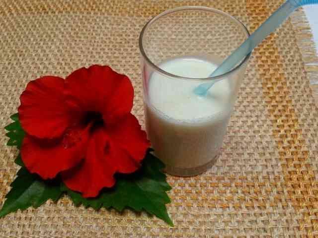 ココナッツミルク  ドリンク&タピオカ