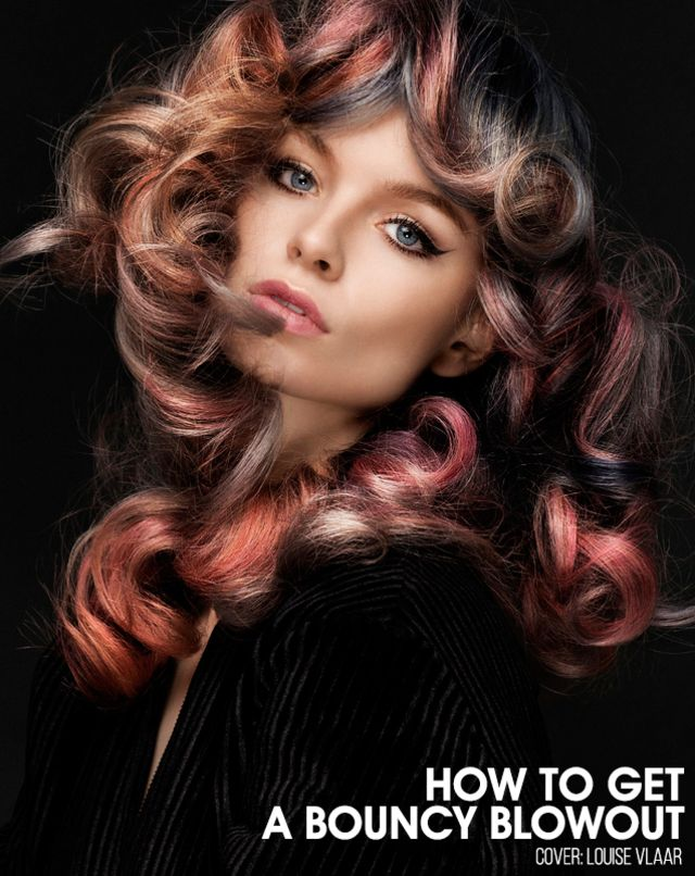 Want to know the secret to lasting curls and bouncy volume from a blowout, without a curling iron? Simple…PIN CURLS! Whether you don't know how to handle a curling iron, or you simply don't have one… no need to worry all you need is a brush, a blow dryer and a few pin curl clips to go from a regular blowout to big bouncy curls.