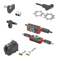 Pneumatic components for handling like Grippers, Rotary actuators, Linear actuators - GIMATIC