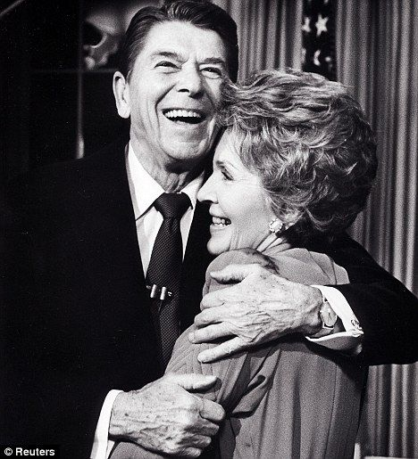 President and First Lady Ronald and Nancy Reagan