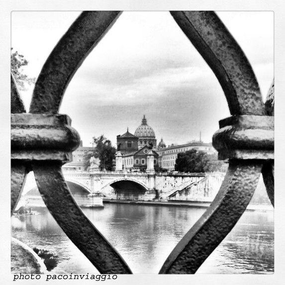 roma in bianco e nero