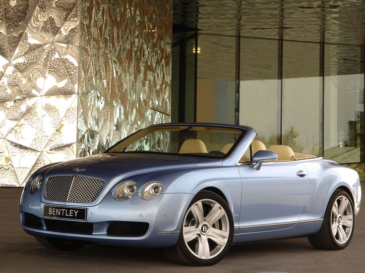 Bentley Convertible.  (No...I don't own one, and never will...but they are VERY nice.