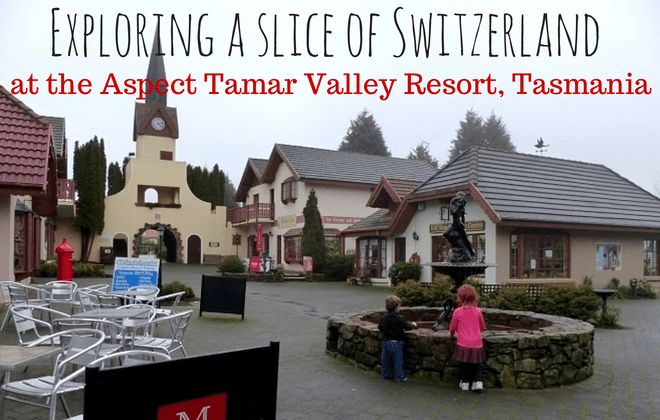 A review and practical information about visiting Grindelwald, Tasmania and staying at the Aspect Tamar Valley Resort including all the facilities, food and photos