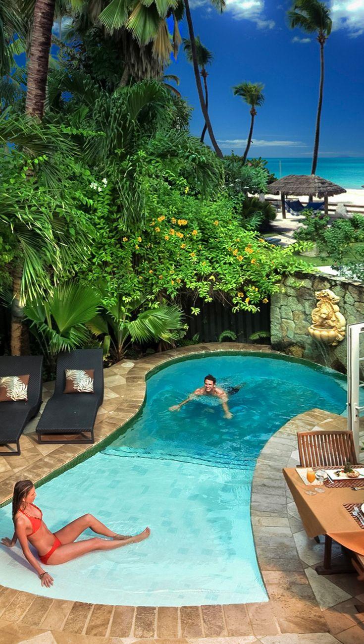 Foto Di Piscine Private love nest suites with private pool sanctuaries at sandals