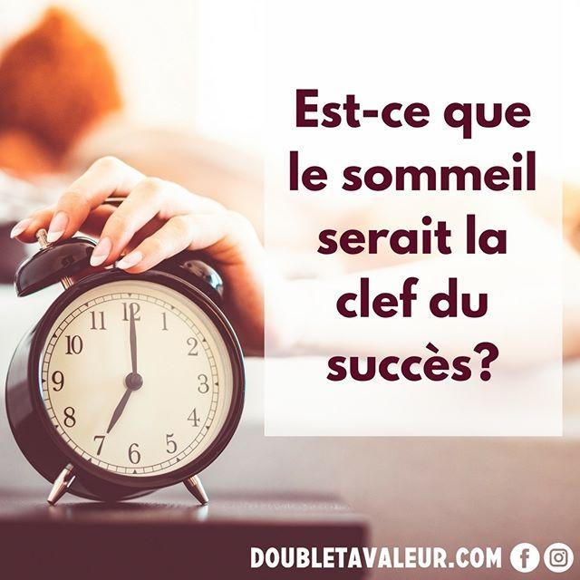 Dormir davantage est sans doute l'une des façons les plus agréables d'améliorer notre efficacité!  ;#doubletavaleur #doubletavaleur.com #blogue #blog #productivité #efficacité #gtd #getthingsdone #travail #emploi #entrepreneur #intrapreneur #entrepreneuriat #intrapreneuriat #qc #québec #sommeil #dormir