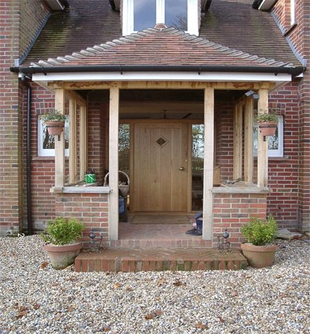25 best ideas about bungalow porch on pinterest for Porch designs for bungalows uk