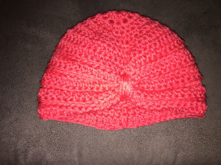 Pink Baby Turban