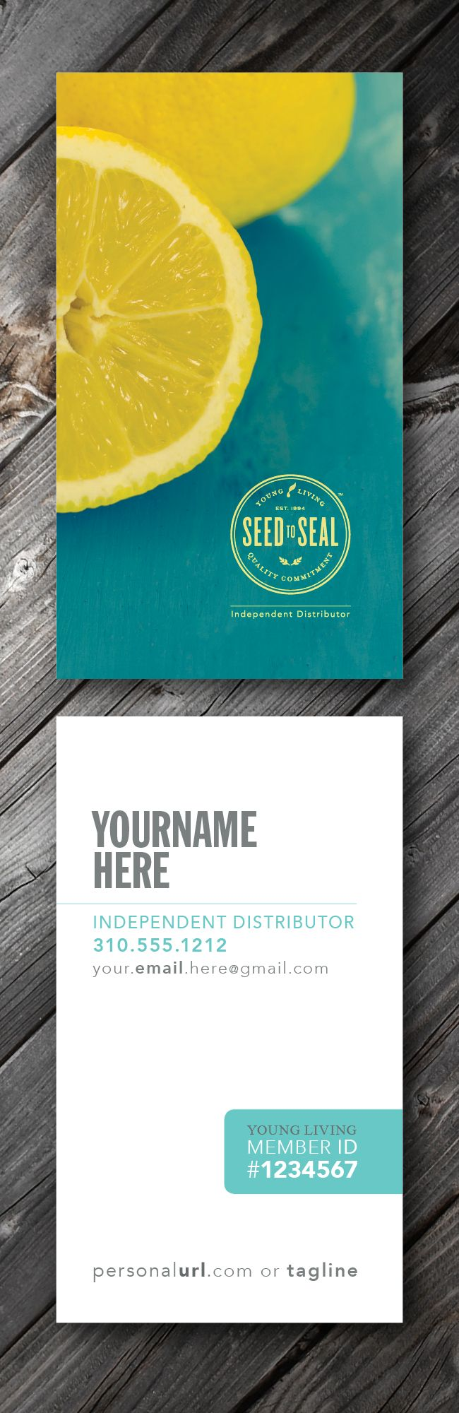 18 best \\\\ Young Living Business Cards + tools \\\\ images on ...