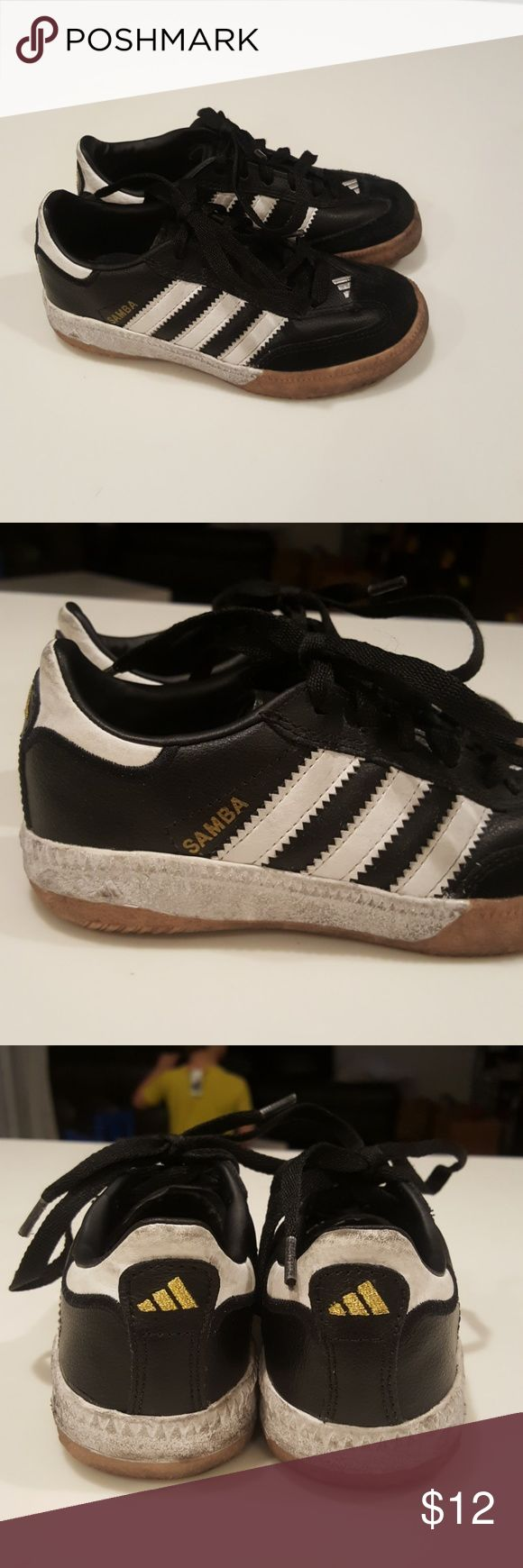 Adidas Samba Sneakers for toddlers Gently used soccer sneakers. adidas Shoes Sneakers