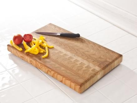 Intricate sustainable wood cutting board
