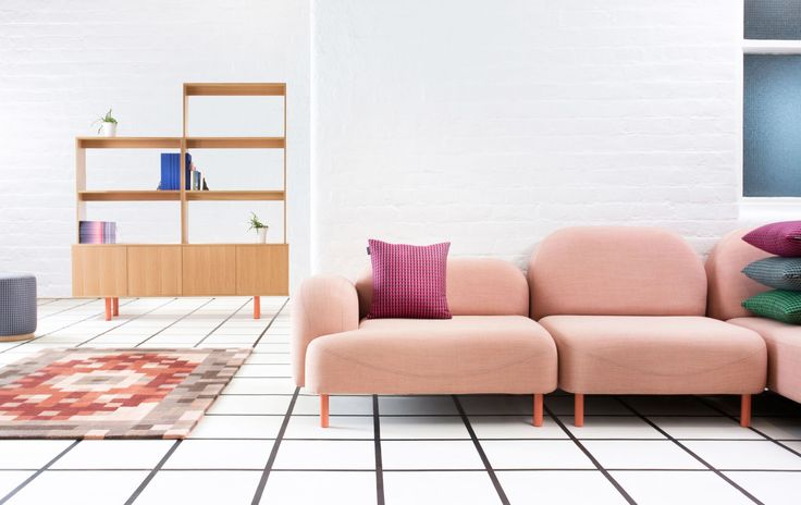 Scafell Modular Sofa by Deadgood Studio pictured with Future