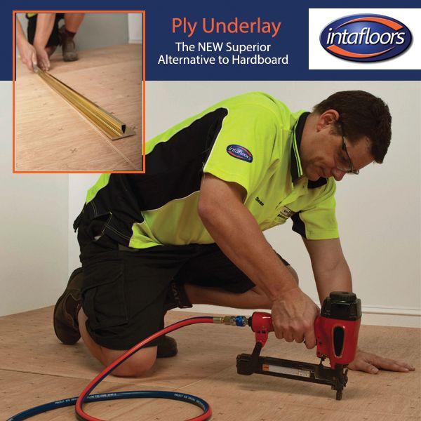 Advantages of Intafloors Ply Underlay include: - Dimensionally stable - No tendency to distort - No defects or knots on surface - Scores and snaps with a knife - Larger sheet size (1220 X 1220mm) - Stables bed below the ply surface - feathering is reduced - Exterior grade bonding adhesive used in construction - Nail pattern to facilitate quick and easy installation  Come in to your closest Intafloors store today or call (02) 8678 5479 for a quote!