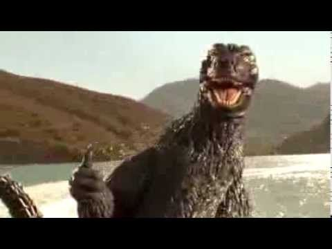 Godzilla - Snickers Chocolate Bar TV Commercial Ad - YouTube