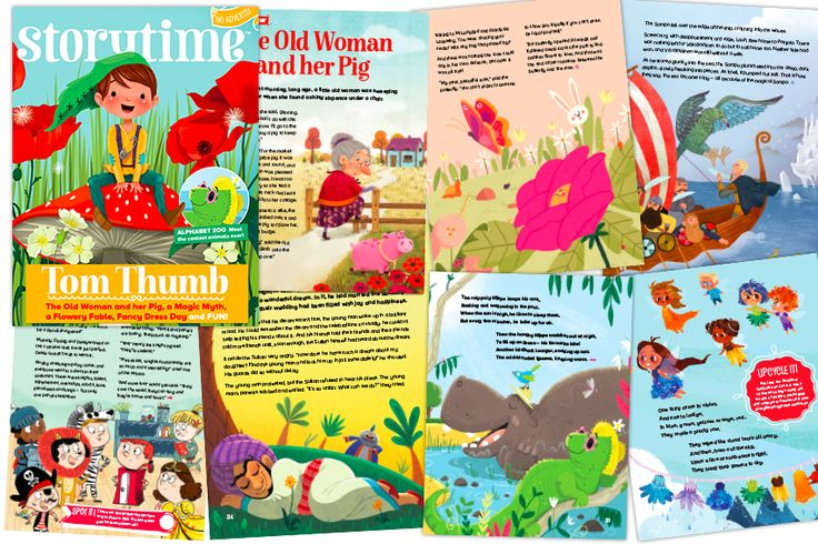 A sneak peek inside Storytime Issue 35 – 8 stories and poems in every issue. The world's favourite story magazine for children! Subscribe today: http://www.storytimemagazine.com/subscribe