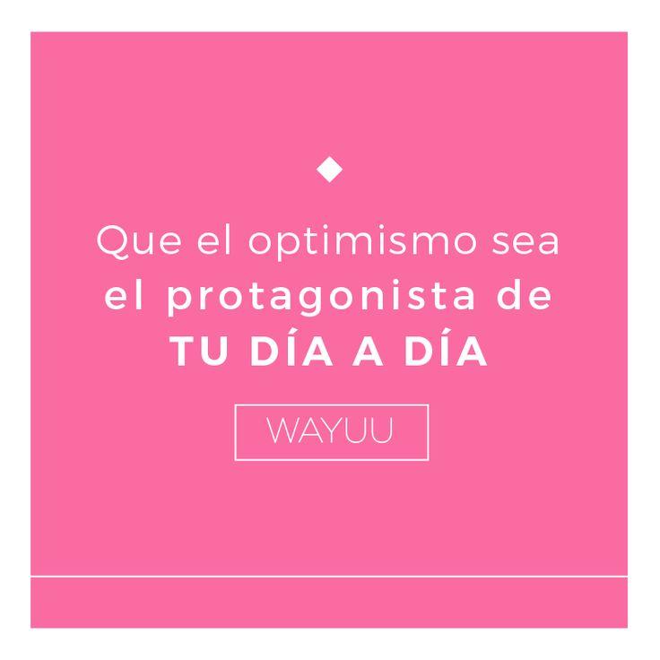 No será fácil mantenerte optimista ante las dificultades, pero ¿quién dijo que el camino fácil es el correcto? ¡No te estanques y mírale el lado positivo a cada situación! #VidaWayuu #GuíaWayuu #ExperienciaWayuu #CrecimientoIntegral #mexicodf
