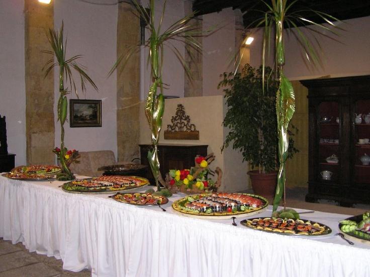 Buffet Sushi - Bingia Pernis - Cagliari - servizio Catering per Matrimoni Flamingo Resort