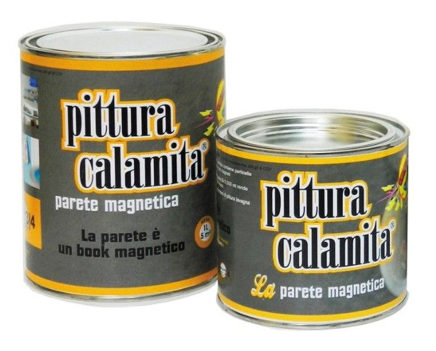 Pittura calamita è una vernice magnetica