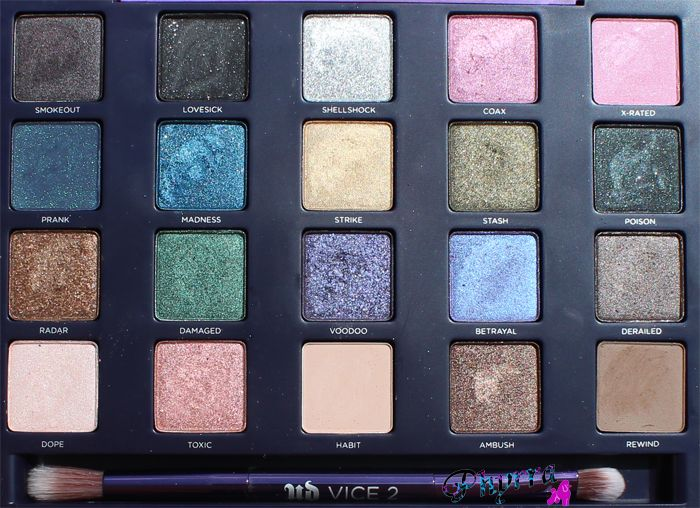Urban Decay Vice 2 Palette Review. Pin now, read later!