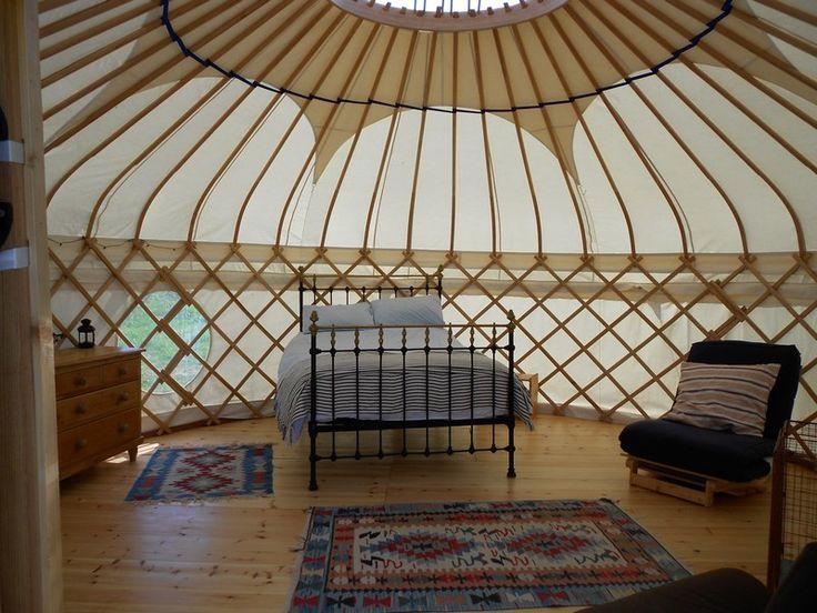 Yurts in Cornwall